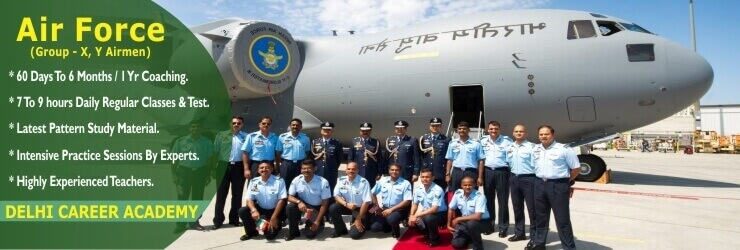 Air Force Group X Y Airmen Coaching In Chandigarh