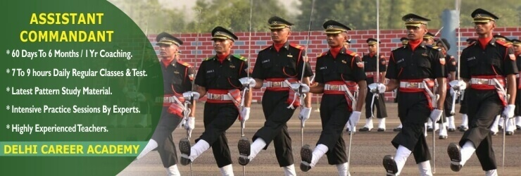 assistant commandant coaching in Chandigarh & Delhi