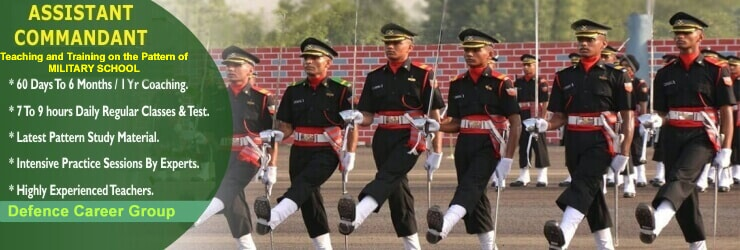 assistant commandant coaching in Chandigarh & Delhi